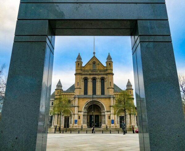 Catedral de Belfast en Irlanda del Norte