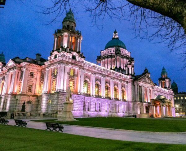Ayuntamiento de Belfast en Irlanda del Norte