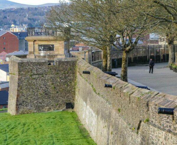 Muralla de Derry-Londonderry en Irlanda del Norte
