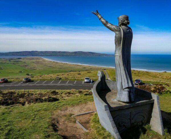 Mirador de Gortmore en Irlanda del Norte