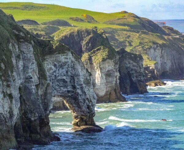 Acantilados de Whiterocks en Irlanda del Norte