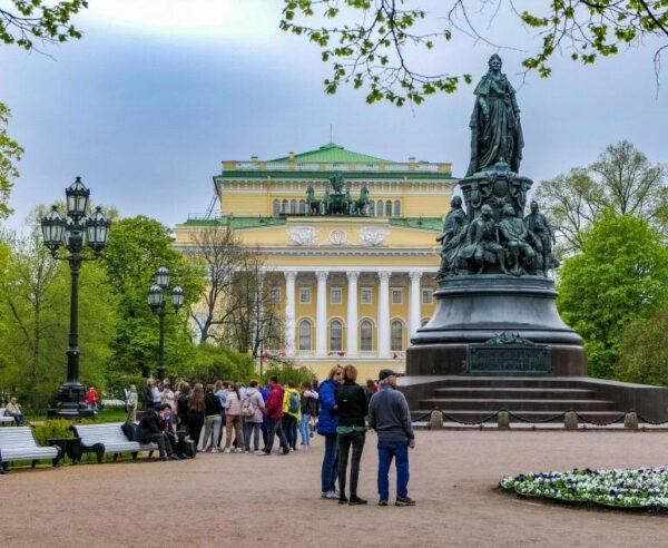 Teatro Alexandrinsky en San Petersburgo
