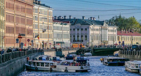 Canales de San Petersburgo en Rusia
