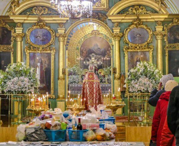 Catedral San Nicolás en San Petersburgo