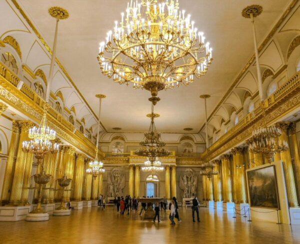 Palacio de Invierno en San Petersburgo