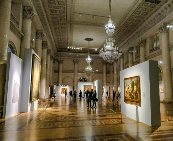 Museo Hermitage en San Petersburgo