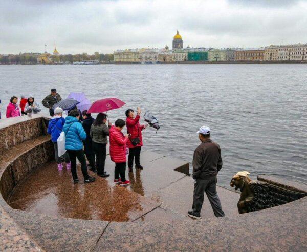 Mirador de las Esfigies en San Petersburgo