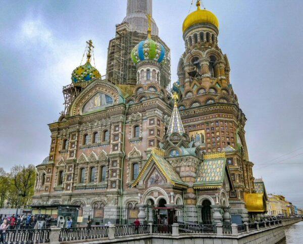 Catedral de San Salvador y la Sangre Derramada en San Petersburgo