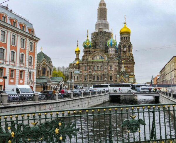 Iglesia de San Salvador y la Sangre Derramada en San Petersburgo