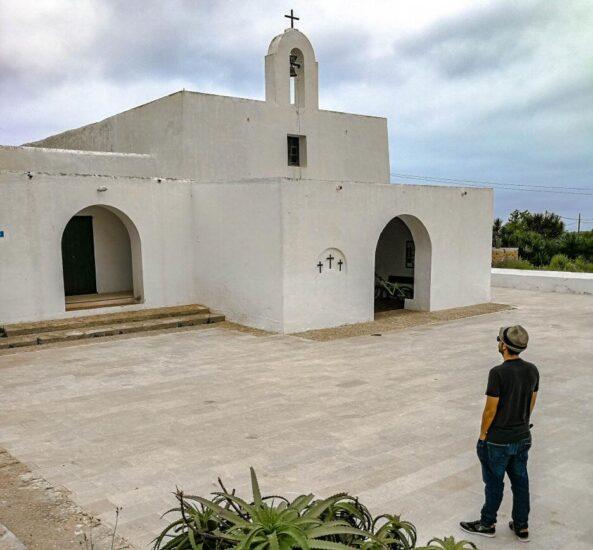 Iglesia de Pilar de la Mola en Formentera en Baleares