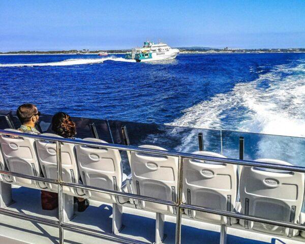 Ferry rápido de Balearia entre Ibiza y Formentera