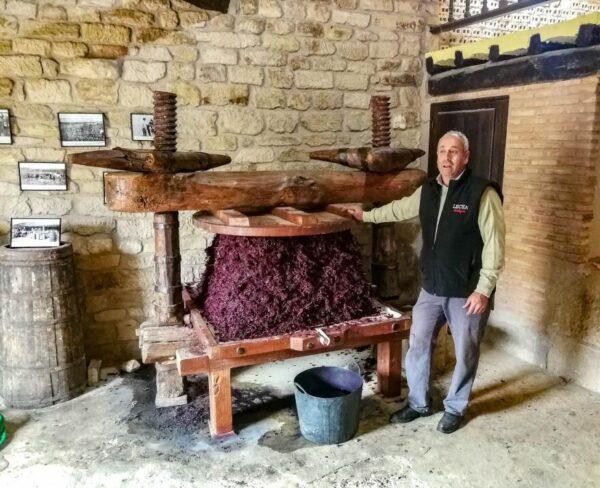 Bodegas Lecea en San Asensio en La Rioja