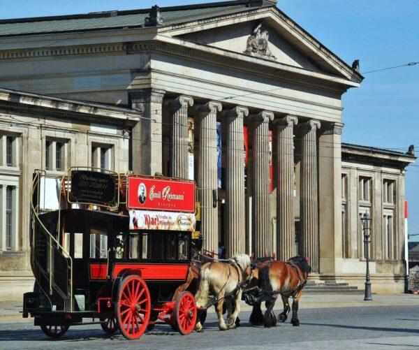 Centro histórico de Dresde en Alemania