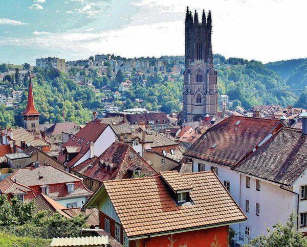Friburgo en Suiza