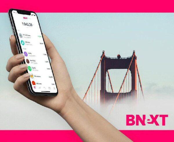 Tarjeta Bnext para pagos y sacar dinero en los viajes