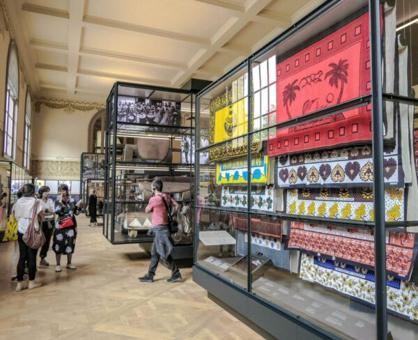 Museo de África Central cerca de Bruselas en Bélgica