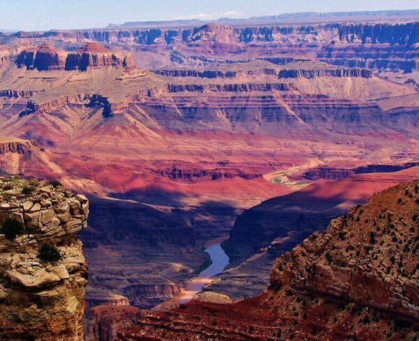 Gran Cañón del Colorado al oeste de Estados Unidos