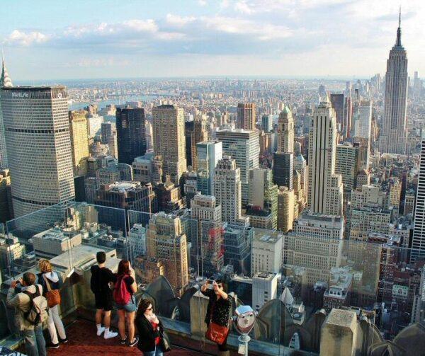 Vistas de Nueva York desde el mirador Top of the Rock