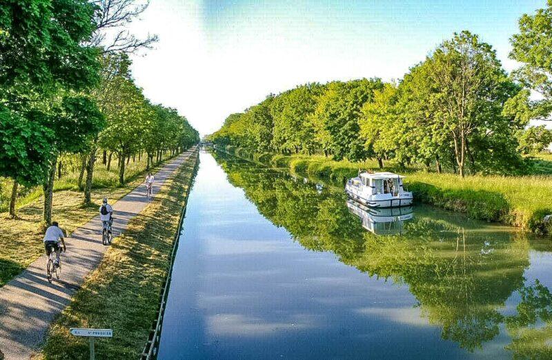 Canal del Midi cerca de Toulouse @Foto: Joel Damase