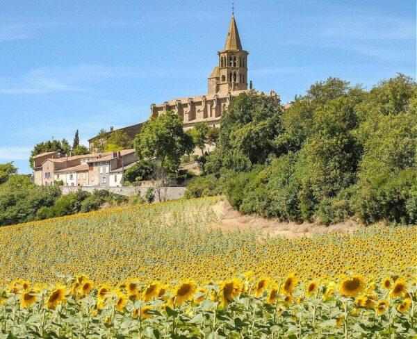 Saint-Flix-Lauragais cerca de Toulouse