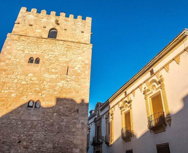 Torre Vieja y Casa del Marqués Valdeguerrero en San Clemente en Cuenca