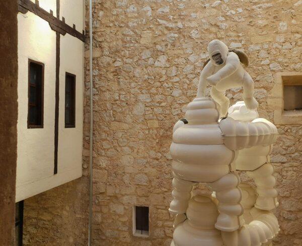 Escultura de Cupito en San Clemente en Cuenca