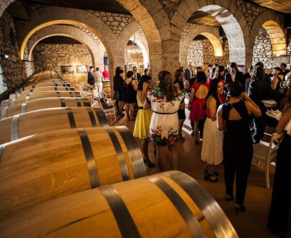 Evento en Bodegas Franco-Españolas de Logroño en La Rioja