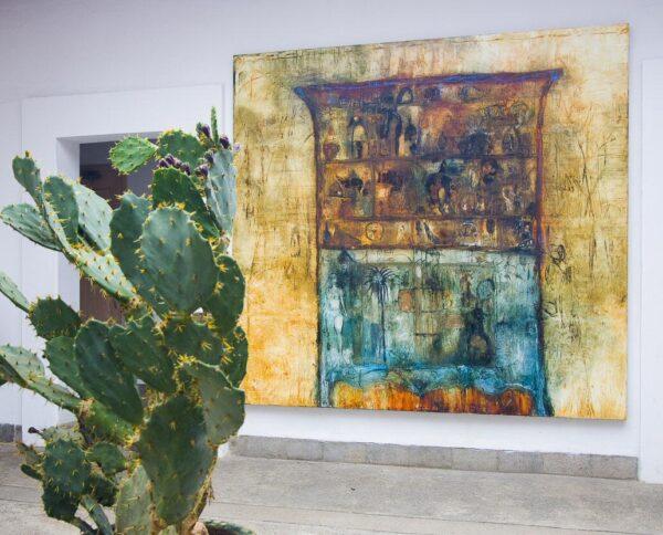 Galería de arte moderno en Oaxaca en México