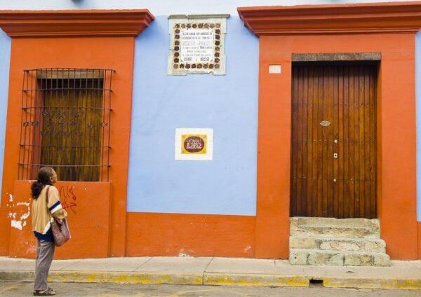 Museo Casa de Benito Juárez en Oaxaca en México