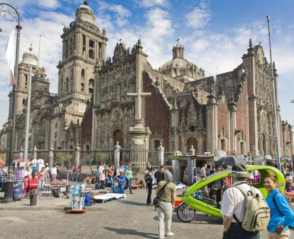 Sagrario Metropolitano y Catedral de Ciudad de México