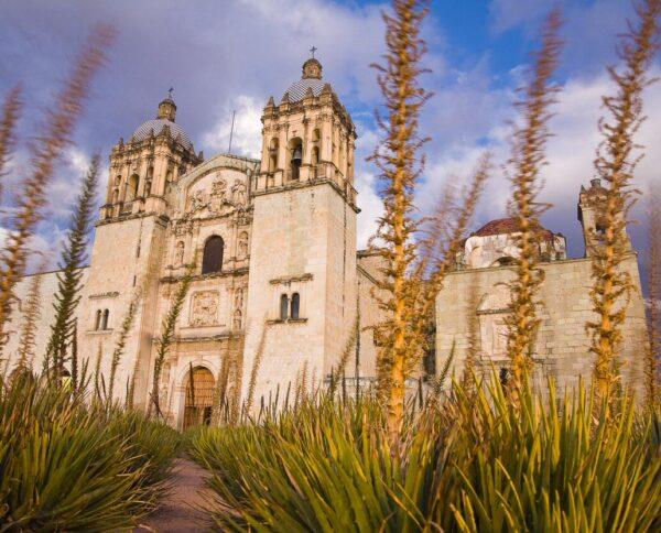 Iglesia de Santo Domingo en Oaxaca en México