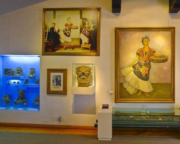 Museo Dolores Olmedo en Xochimilco cerca de Ciudad de México