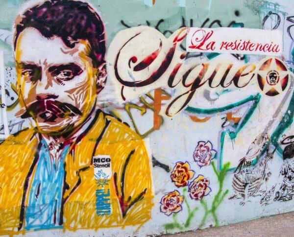 Pinturas murales en Oaxaca en México