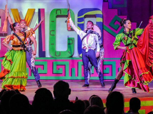 Espectáculo en Grand Palladium Hotel & Resorts en Riviera Maya