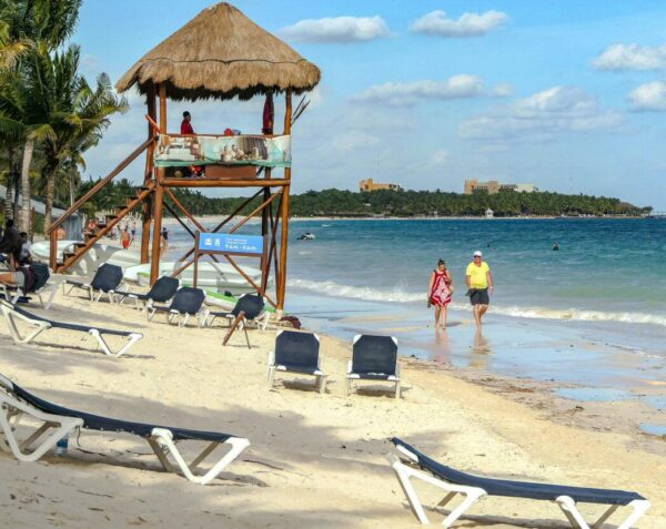 Playa en Grand Palladium Hotel & Resorts en Riviera Maya