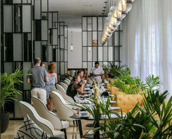 Restaurante El Capricho en TRS Yucatan Hotel en Riviera Maya