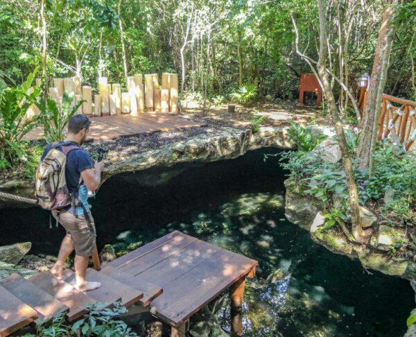 Cenote en Grand Palladium Hotel & Resorts en Riviera Maya