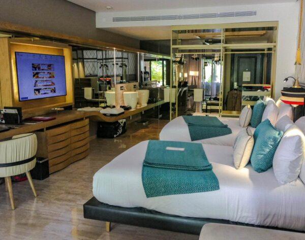 Suite del TRS Yucatan Hotel en Riviera Maya en México