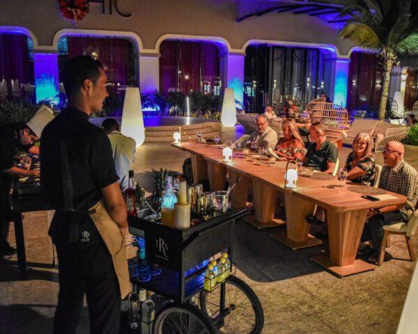 Experiencia gastronómica La Mesa del Chef en TRS Yucatan Hotel en Riviera Maya