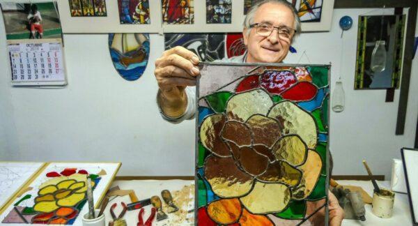 Taller de vidrio L´Art del Vitrall en Sabadell en Barcelona