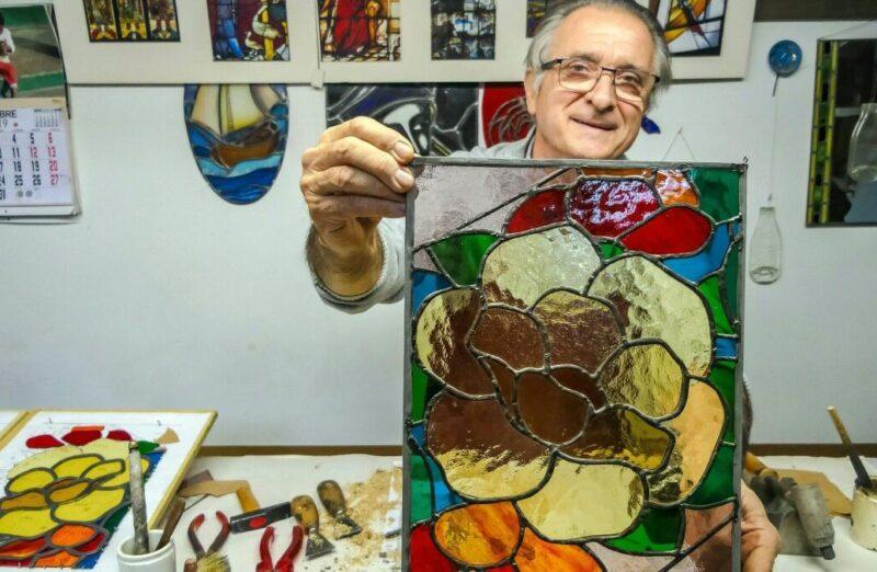 Taller de vidrio L´Art del Vitrall en Sabadell en Cataluña