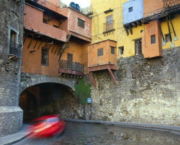 Calles subterráneas en Guanajuato