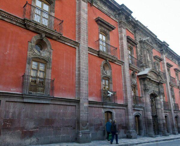 Casa del Mayorazgo de Canal en San Miguel de Allende en México