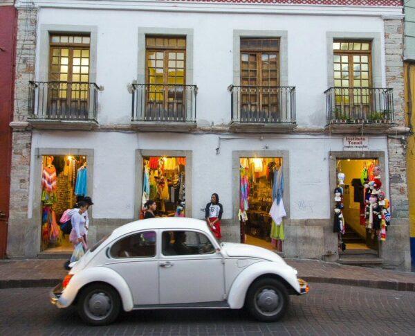 Centro histórico de Guanajuato en México
