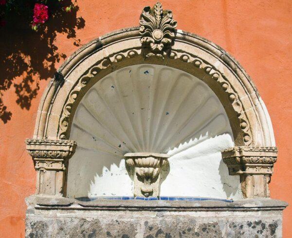 Detalle arquitectónico en San Miguel de Allende