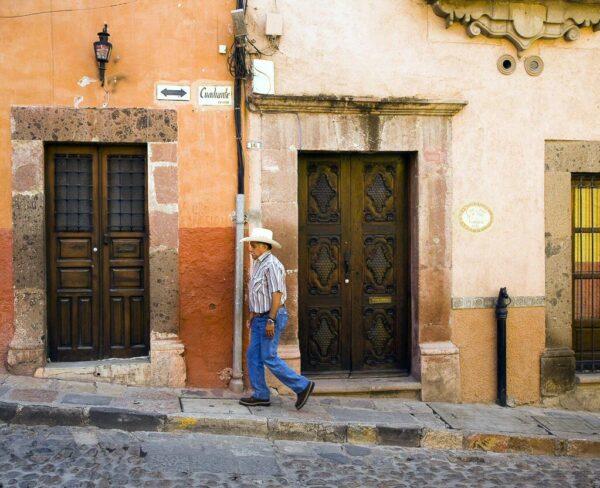 Centro histórico de San Miguel de Allende en México