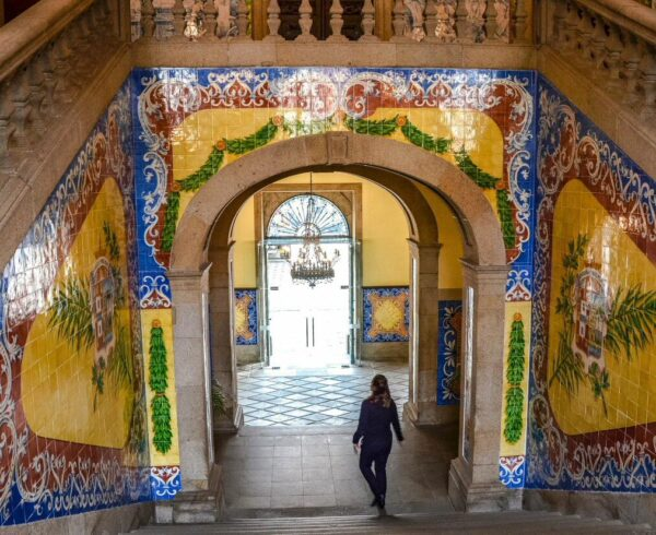 Ayuntamiento de Viseu en la región Centro de Portugal