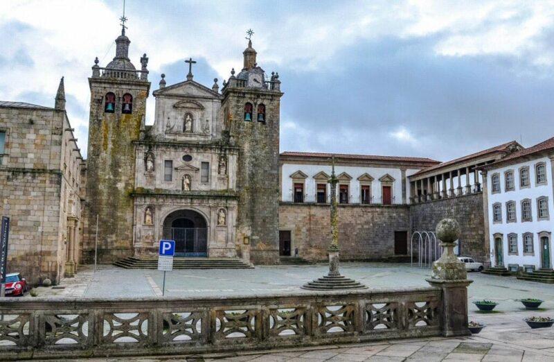 Catedral de Viseu en la región Centro de Portugal