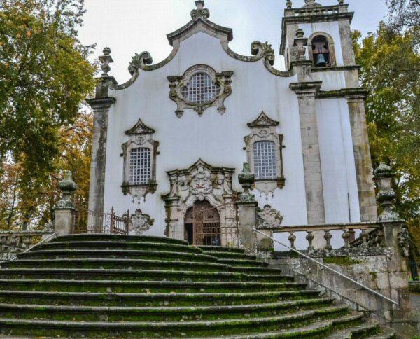Iglesia de los Terceros en Viseu en la región Centro de Portugal