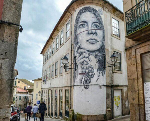 Arte callejero en Viseu